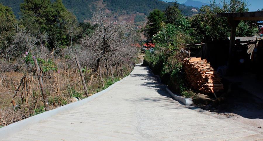 La mayoría de calles en San Pedro Soloma no son de terracería. Hay de pavimento, balastro y asfalto. (Foto: Facebook comuna de San Pedro Soloma)