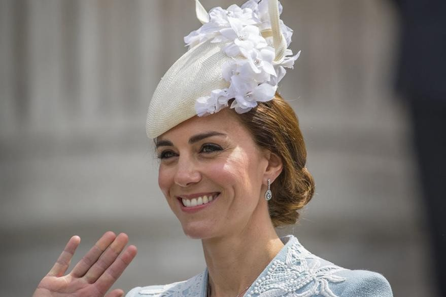 Kate Middleton, la duquesa de Cambridge. (Foto Prensa Libre: EFE/ Corona Británica)