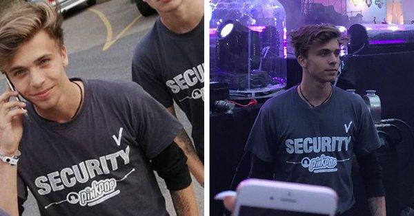 Boy Roeles es el guardaespaldas de Justin Bieber que está causando sensación en redes sociales.