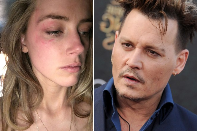 La actriz Amber Heard asegura que las golpizas de Depp eran comunes durante su matrimonio de 15 meses. (Foto Prensa Libre, tomada de TMZ.com)
