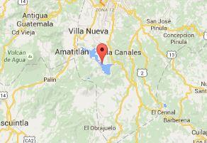 El hecho se registró en calle principal de aldea Humito, Amatitlán. (Foto: Internet)