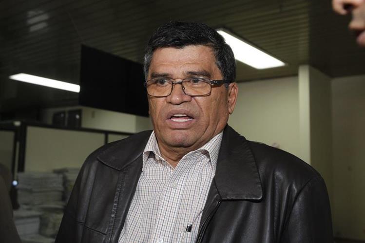 Arnoldo Medrano, alcalde de Chinautla durante seis periodos, es señalado de lavado de dinero, entre otros delitos. (Foto Prensa Libre: Hemeroteca PL)