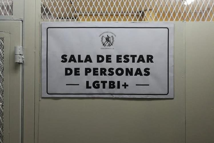 Las personas que se identifiquen con la diversidad sexual LGTBI+ podrán usar la carceleta. (Foto Prensa Libre: Javier Lainfiesta)