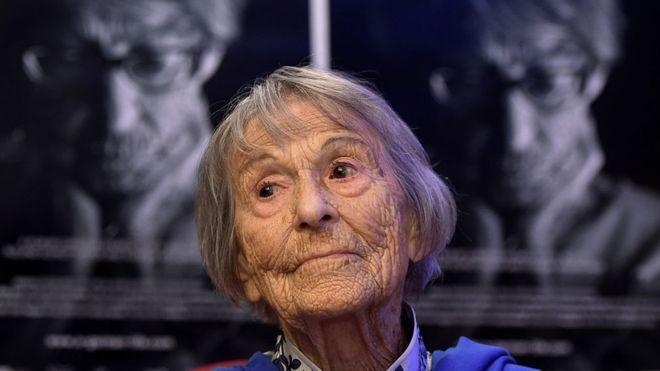 """""""Lo que hice no fue más que trabajar para el señor Goebbels"""", insiste Brunhilde Pomsel. GETTY IMAGES"""