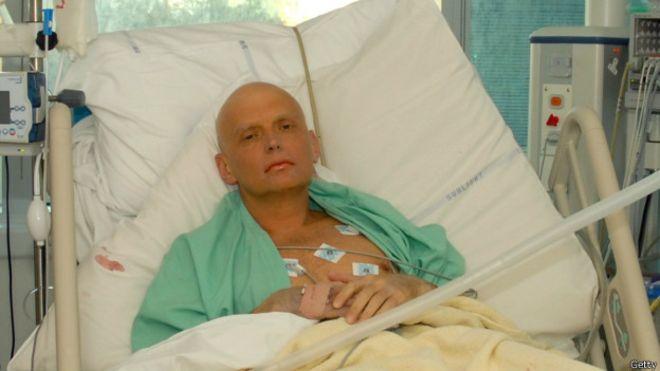 El exespía ruso,Alexander Litvinenko, fue envenenado con polonio a través de un té contaminado.