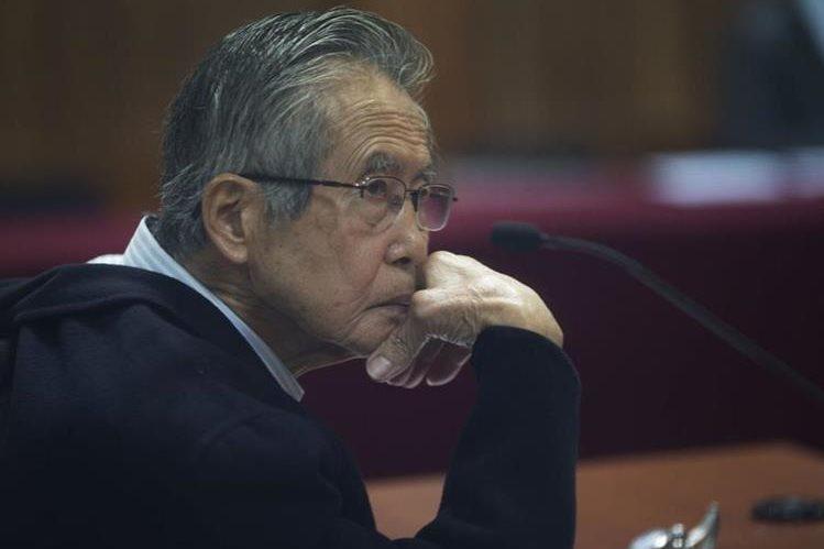 Alberto Fujimori fue condenado en el 2009 a 25 años de cárcel por delitos de lesa humanidad.(AFP).