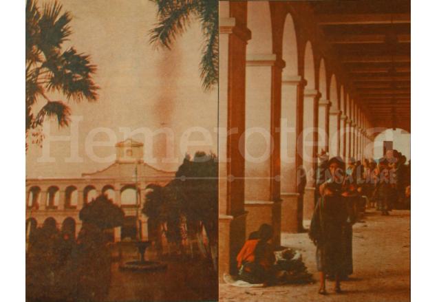 Vista de los portales de San Juan en los días anteriores a su inaguración. (Foto: Hemeroteca PL)