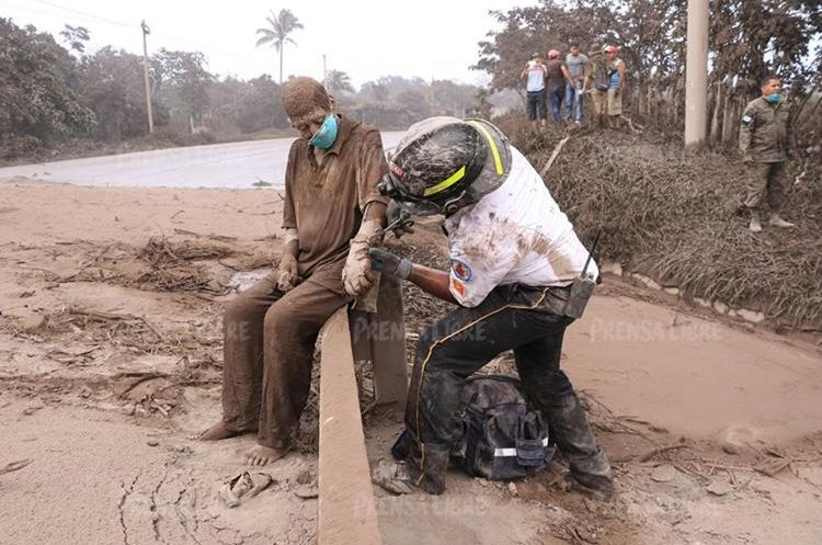 Con 88 años de edad, Concepción Hernández soportó tres días las quemaduras en el 50 por ciento de su cuerpo.