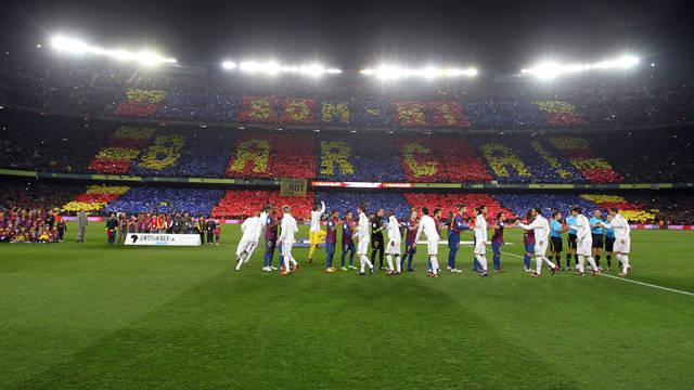 El clásico entre el FC Barcelona y el Real Madrid se jugará el sábado en el Camp NOu dode se utilizará tecnología 360 para las repeticiones. (Foto Prensa Libre: Hemeroteca)
