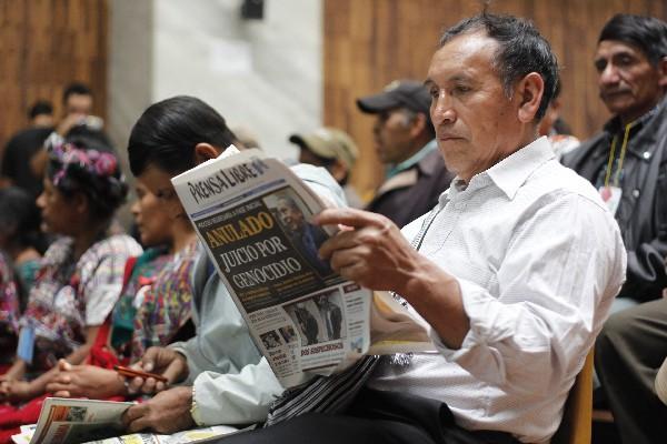 <p>Benjamín Manuel Jerónimo, sobreviviente de la matanza de Plan de Sánchez.<br></p>