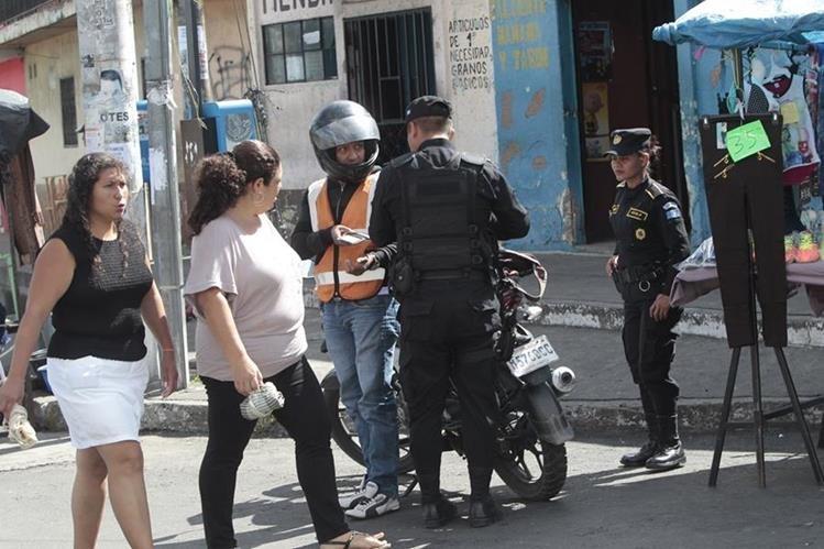 Con los operativos se recuperan las áreas afectadas por los asaltos, aseguran autoridades policiales. (Prensa Libre: Hemeroteca PL)