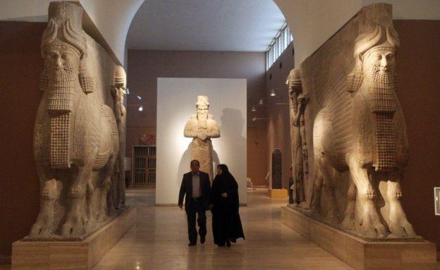 Muchos tesoros iraquíes se encuentran en el Museo Británico. GETTY IMAGES