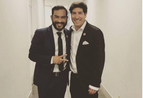 Carlos Ruiz e Iván Zamorano forman parte de la iniciativa #UnidosPorLosNuestros. (Foto Prensa Libre: Instagram Carlos Ruiz)