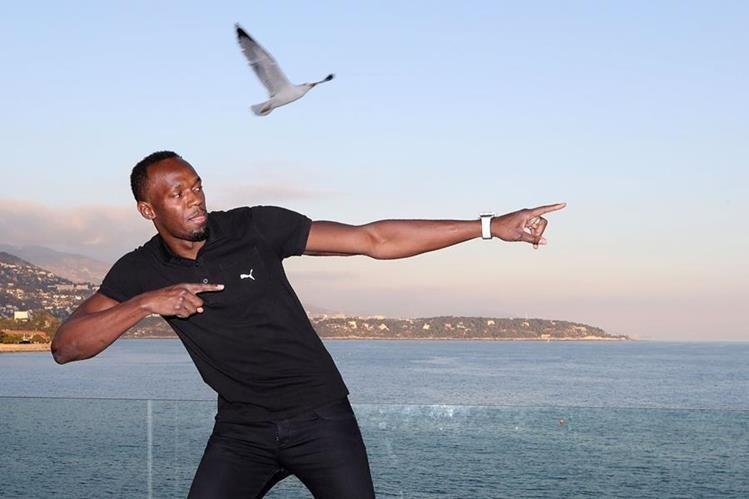 Usain Bolt se retirará el próximo año. (Foto Prensa Libre: AFP)
