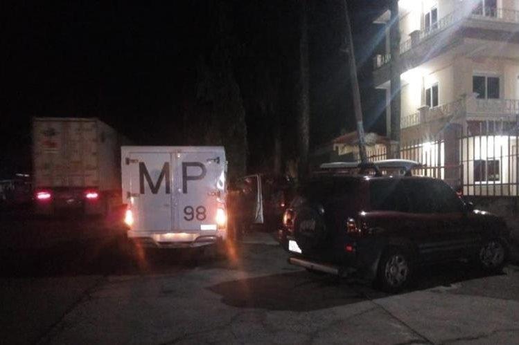Roel Cifuentes Arreaga murió baleado en su vivienda, en el km 182, San Sebastián, Retalhuleu. (Foto Prensa Libre: Rolando Miranda)