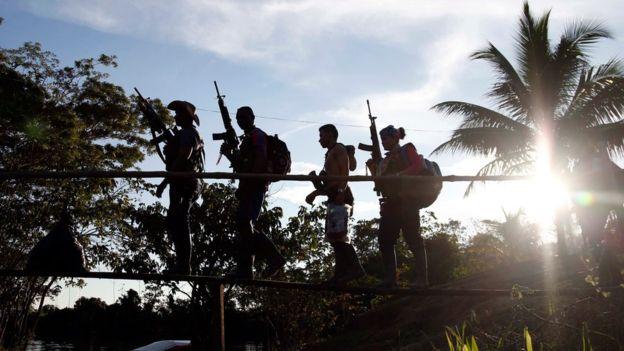 El conflicto armado colombiano también fue afectado por el contexto internacional marcado por la Guerra Fría.(AP).