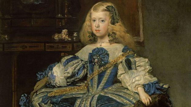 En esta obra conservada en Viena, la infanta aparece también retratada por el pincel de Velázquez.