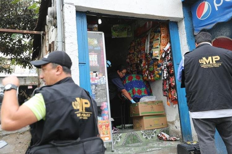 El Ministerio Público busca establecer la causa de la muerte de la menor. (Foto Prensa Libre: Erick Ávila)