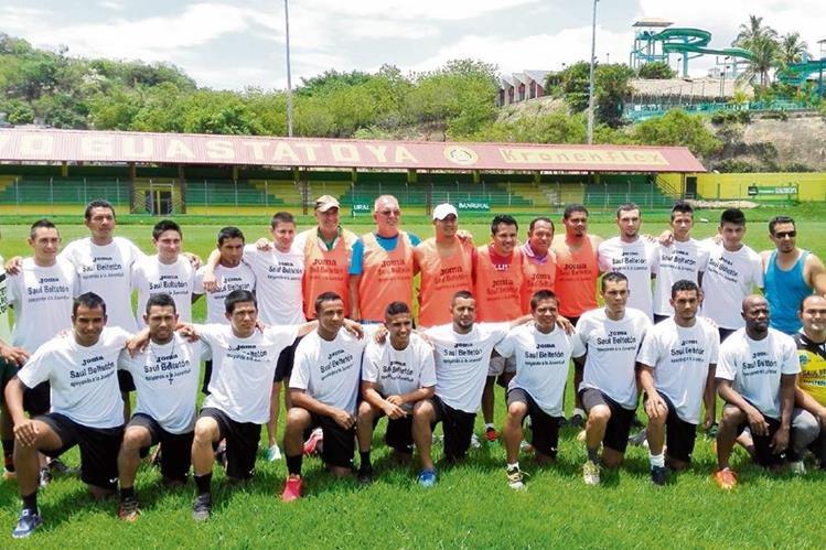 Guastatoya está listo para el Apertura 2015; su primer rival será Deportivo Malacateco. (Foto Prensa Libre: Hugo Oliva)