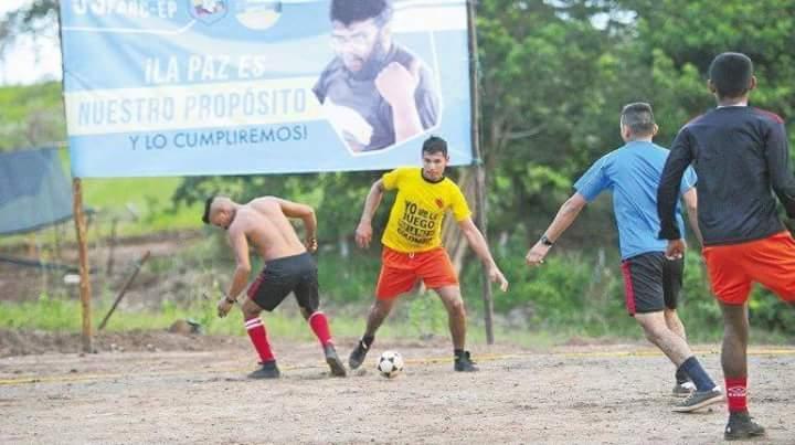 Las FARC no tendrán equipo profesional en la Liga Colombiana de Futbol. (Foto Prensa Libre: Tomada de internet)