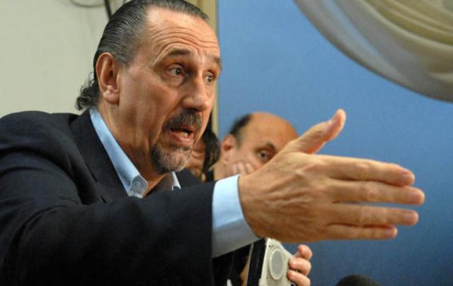 Guillermo Marconi del Sindicato de Arbitros Deportivos de la República Argentina, dijo que decretaron un paro de actividades para el fin de semana. (Foto Prensa Libre: Cadena 3 )