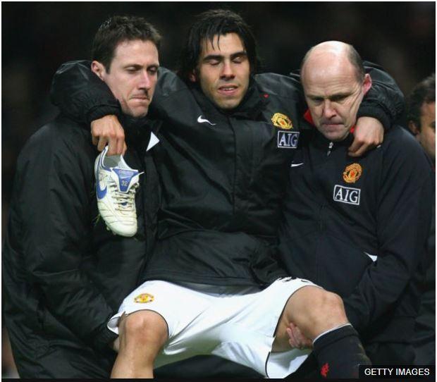 Tévez tuvo diferentes lesiones durante su carrera, pero ninguna como la que le sucedió antes de su debut en el City.
