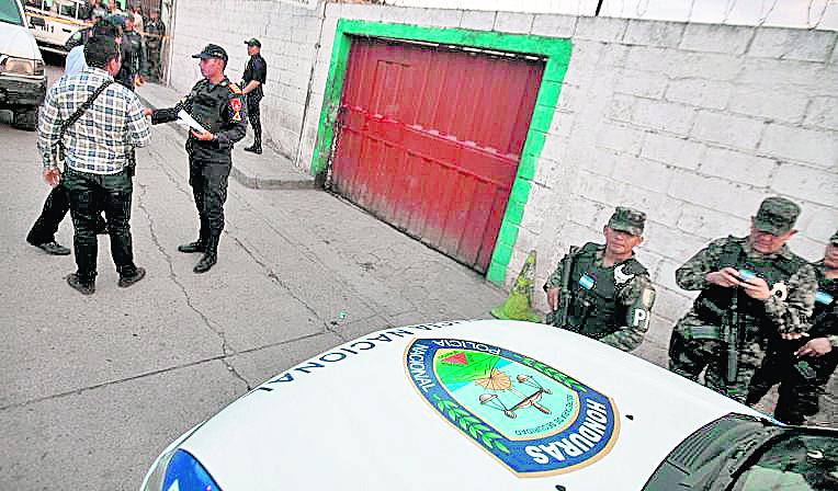 Ilustración. Honduras, uno de los países mas violentos del mundo. (Foto Hemeroteca PL).