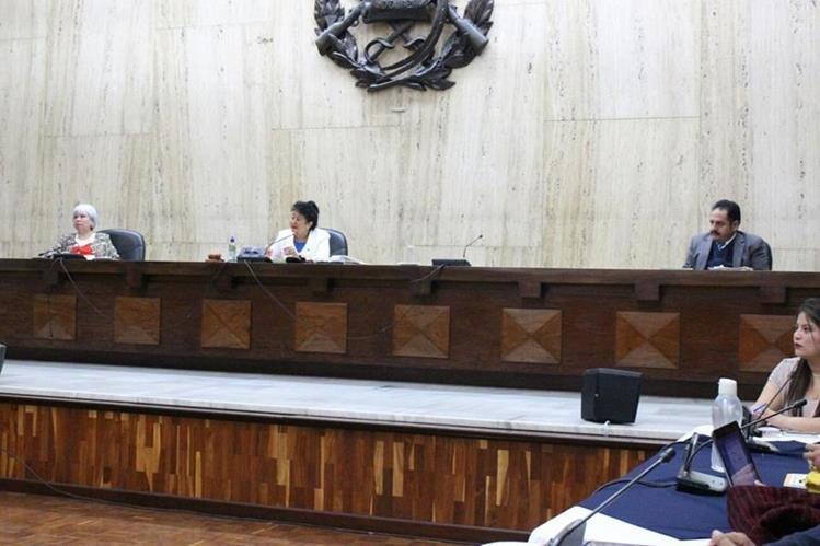 Este viernes el Tribunal dictará la sentencia por el caso Sepur Zarco. (Foto Prensa Libre: Paulo Raquec)