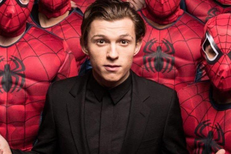 El actor Tom Holland es el rostro de la nueva saga de Spider-Man. (Foto Prensa Libre: twimg.com)