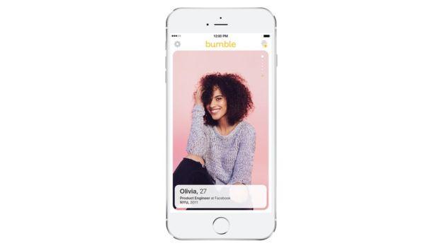 Bumble ha utilizado un discurso feminista que le ha ayudado a superar los 18 millones de usuarios en casi dos años. (BUMBLE)
