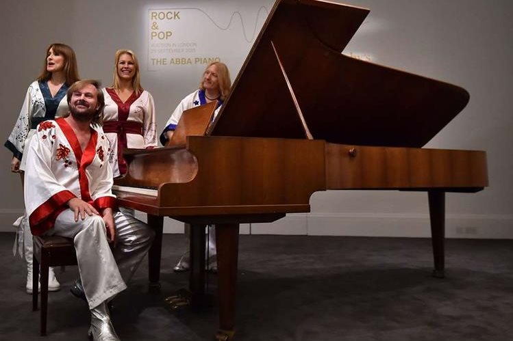 El piano fue diseñado por el sueco Georg Bolin (1912-1993). (Foto Prensa Libre: AFP)