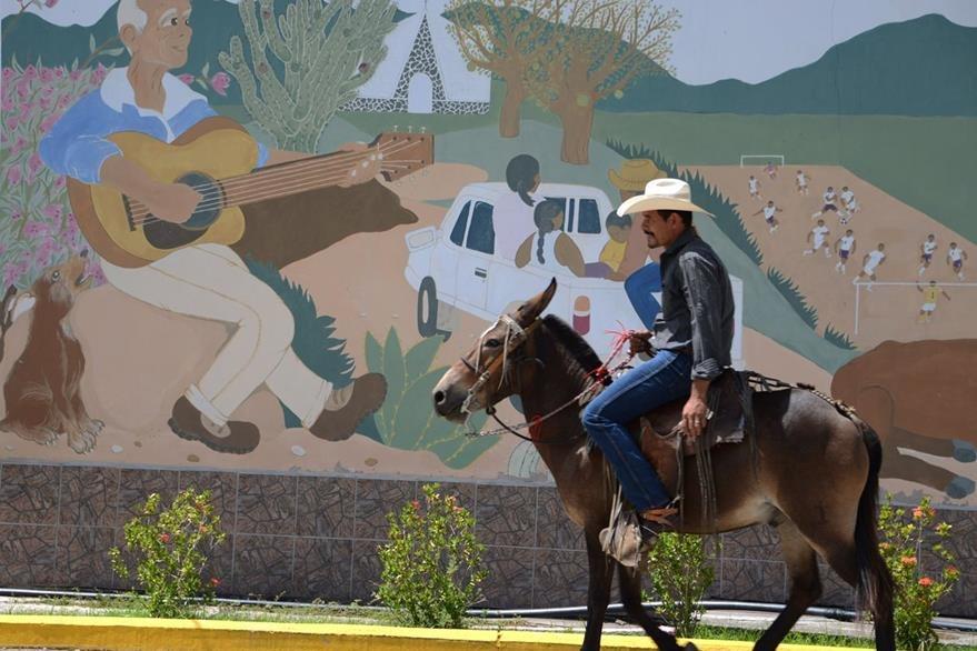 La Nueva Morolica, el pueblo que fue reconstruido con ayuda internacional. (Foto Prensa Libre: AFP).