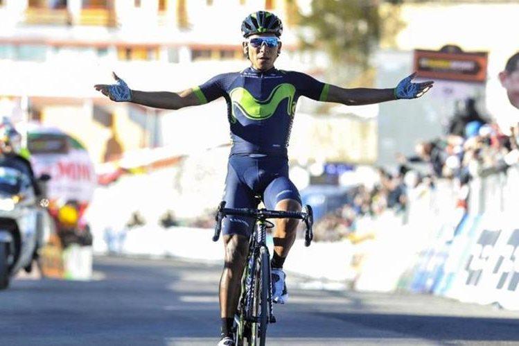 Quintana llega motivado después de su desempeño en el Giro de Italia. (Foto Prensa Libre: Diario AS)