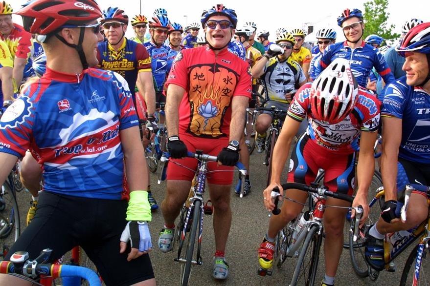 Williams participó en varias carreras de ciclismo. (Foto Prensa Libre: Hemeroteca PL)