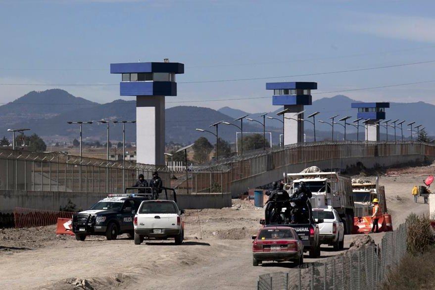 Prisión de alta seguridad El Altiplano, en el estado de México, donde fue recluido de nuevo Gusmán. (AP)