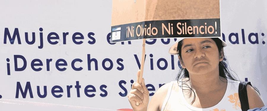 Las mujeres reportan más la violencia física, asegura el MP. (Foto Prensa Libre: Hemeroteca PL)