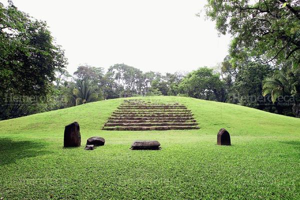 Sitio arqueológico Takalik Abaj. (Foto: Hemeroteca PL)