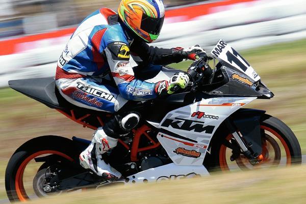 La mayor parte de la carrera de Reichert ha sido en la motovelocidad. (Foto Prensa Libre: Hemeroteca PL)