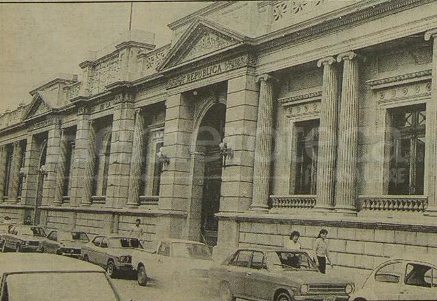 Fachada del Congreso de la República en 1992. (Foto: Hemeroteca PL)