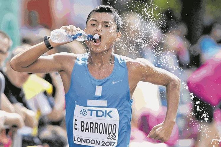 Érick Barrondo es el único atleta guatemalteco que ha ganado una medalla olímpica. (Foto Prensa Libre: Hemeroteca PL)