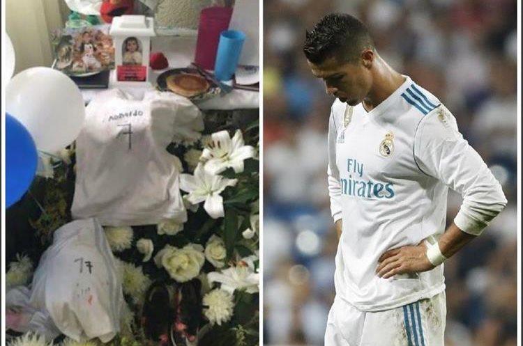 Santiago admiraba mucho a su padre y a Cristiano Ronaldo, y cuando fuera grande deseaba ser maestro de historia como su papá y futbolista como el CR7. (Foto Prensa Libre: Collage Twitter y Agencias)