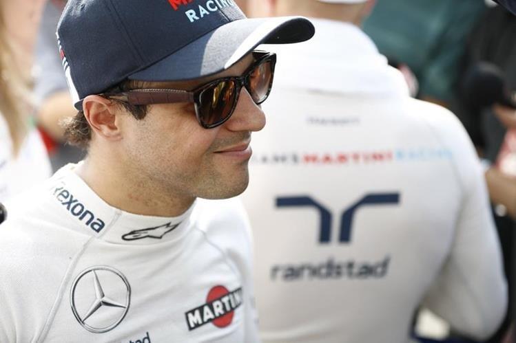 Felipe Massa está agradecido con Williams por darle una nueva oportunidad en su equipo. (Foto Prensa Libre: Twitter)