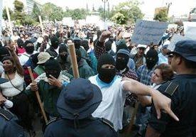 El 24 de julio de 2003 será recordado por destrozos en favor de Ríos Montt