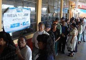 La convocatoria a elecciones generales será el próximo sábado 2 de mayo. (Foto Prensa Libre: Hemeroteca PL)