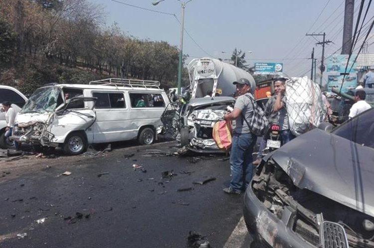 Aún se está verificando cuántas personas resultaron heridas. (Foto Prensa Libre: @BMCDKRAUSE)