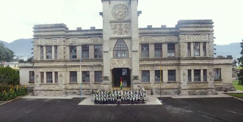 El Palacio Maya fue una de las ubicaciones que se usaron para este video. (Foto Prensa Libre: Hemeroteca PL)