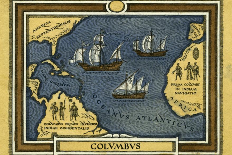La llegada a América de Cristóbal Colón trajo consigo el pronombre