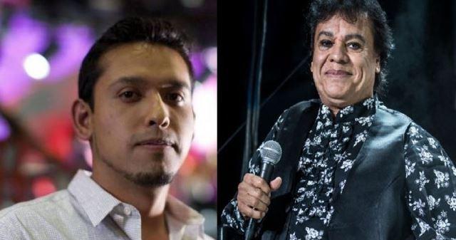 Ivan Gabriel Aguilera y su padre Juan Gabriel. (Foto Prensa Libre: tvislamujeres.com.mx)