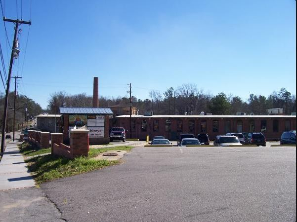 Vista de una de las calles de Lexington, Carolina del Sur, lugar donde ocurrió la masacre.