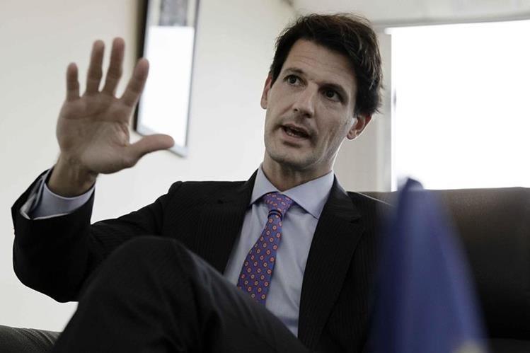 Pelayo Castro, embajador de la Unión Europea (UE) en Costa Rica (Foto Prensa Libre: EFE)